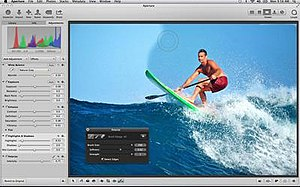 Aperture 3 running on OS X Mavericks