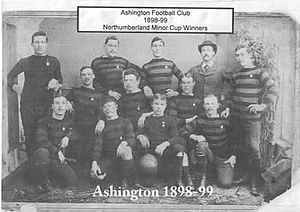 Ashington A.F.C. - The Ashington team of 1898–99.