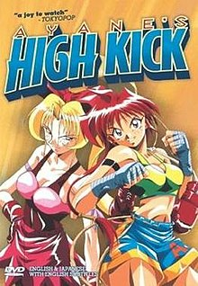 Ayane's High Kick cover.jpg