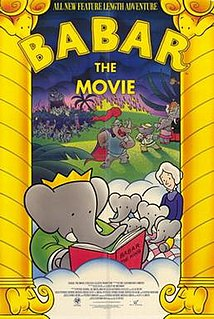 <i>Babar: The Movie</i> 1989 Canadian film