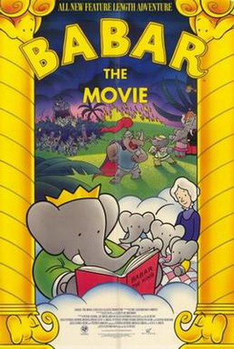 Babar: The Movie - Theatrical release poster