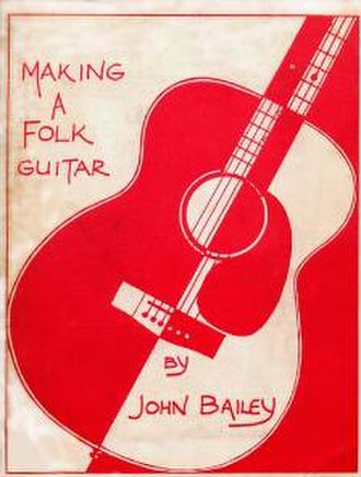John Bailey (luthier) - Image: Bailey Guitar Small CLEANED