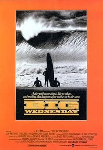 Big Wednesday - Theatrical release poster