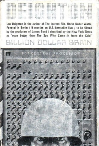 Billion-Dollar Brain - cover of the first edition
