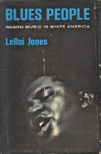 Blues People - Front cover of the first edition