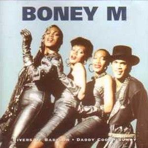 The Collection (1991 Boney M. album) - Image: Boney M. Cristal Collection