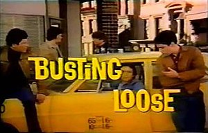 Title card for Busting Loose, 1977