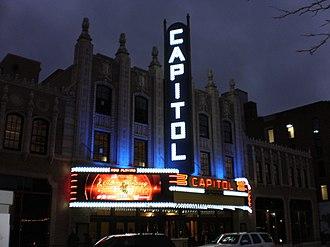 Capitol Theatre Building (Flint, Michigan) - The Capitol Theatre, December 2017