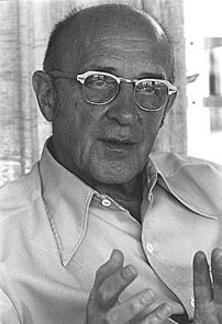 Carl Rogers, advocate for Person-centered psychotherapy