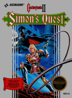 <i>Castlevania II: Simons Quest</i> 1987 video game