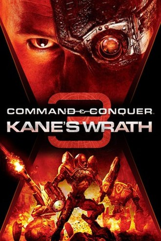 Command & Conquer 3: Kane's Wrath - Image: Cc 3kw win cover