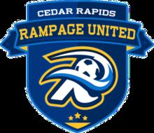 Cedar Rapids Rampage United logo.png