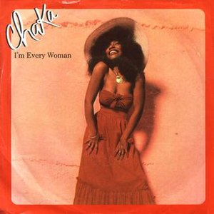 I'm Every Woman - Image: Chaka khan im every woman warner bros us vinyl