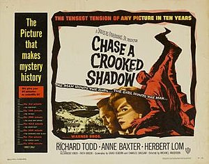 Chase a Crooked Shadow - Film poster