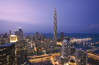 Chicago Spire building