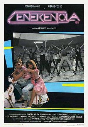 Cinderella '80 - Italian theatrical release poster