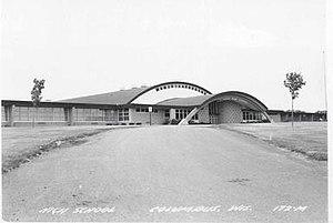 Columbus Senior High School - Columbus High School circa 1958