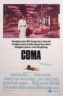 <i>Coma</i> (1978 film) 1978 film by Michael Crichton