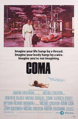 Coma (1978 film) - Image: Coma film poster