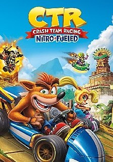 <i>Crash Team Racing Nitro-Fueled</i> 2019 kart racing video game developed by Beenox