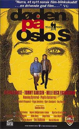 Døden på Oslo S - Norwegian DVD/VHS cover