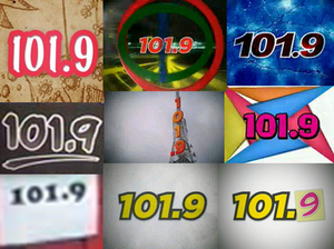 DWRR-FM - Some logo used in Tambayan TV when the station was named as 101.9