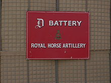 D Battery Royal Horse Artillery - Basrah, Iraq, April 2008.JPG