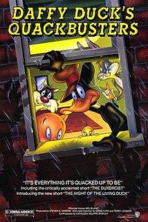 <i>Daffy Ducks Quackbusters</i> 1988 animated feature film