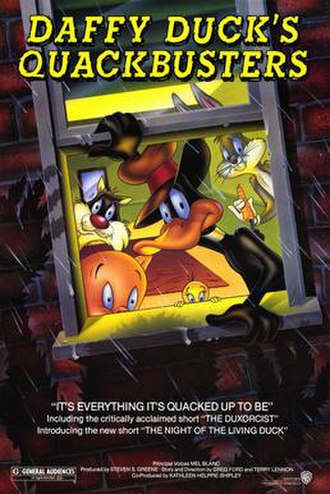 Daffy Duck's Quackbusters - Theatrical release poster