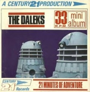 The Chase (Doctor Who) - Cover of the 'mini-album' release