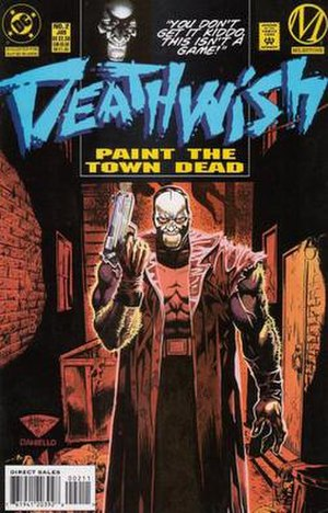 Hardware (comics) - Deathwish the vigilante, artist J.H. Williams III