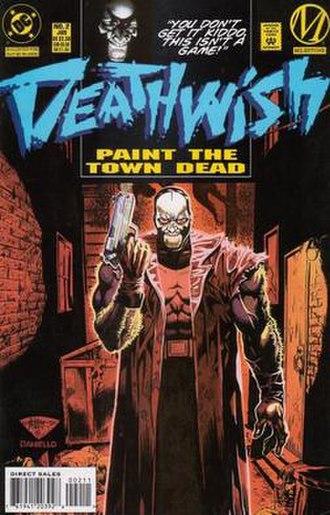 Hardware (comics) - Deathwish the vigilante, artist J.H. Williams III