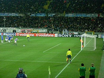 Penalty by Del Piero scored on the First Knock...