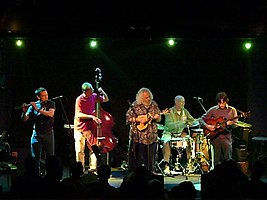David Grisman Quintet performing in 2008