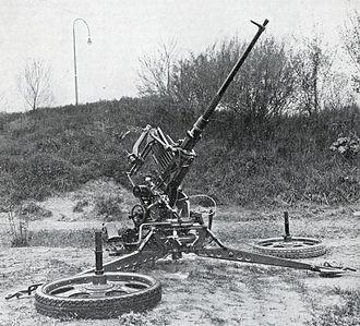 Battle of the Afsluitdijk - A Dutch Oerlikon 20 mm cannon