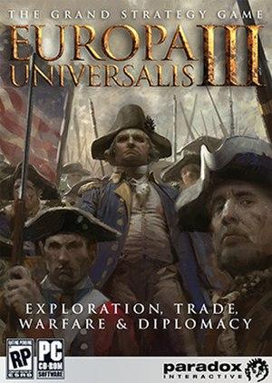 Europa Universalis III - Cover art of Europa Universalis III