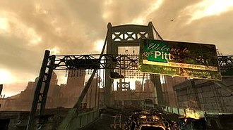 """Fallout 3 downloadable content - """"Welcome to The Pitt""""."""