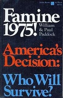 <i>Famine 1975! Americas Decision: Who Will Survive?</i>