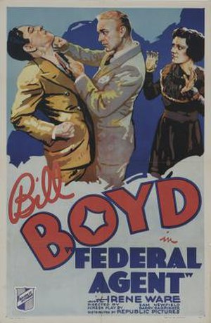 Federal Agent - Theatrical release poster