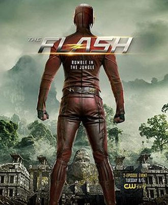 Gorilla City (The Flash) - Promotional poster