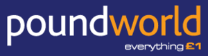 "Poundworld - Former Poundworld logo with the ""Everything £1"" slogan"