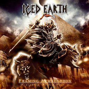 Framing Armageddon: Something Wicked Part 1 - Image: Framing Armageddon Iced Earth