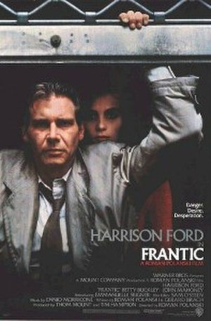 Frantic (film) - Theatrical release poster