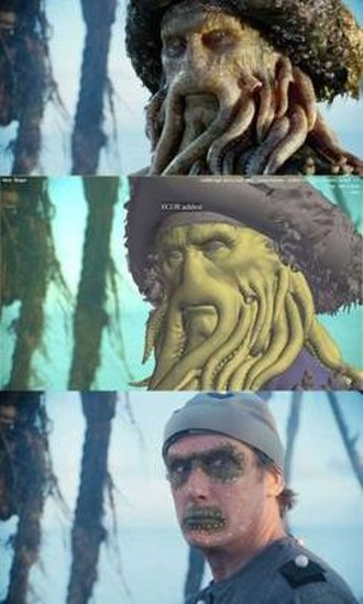 Davy Jones (Pirates of the Caribbean) - From real to reality: Davy Jones is brought to life.