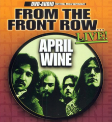 From the Front Row ... Live! (April Wine album cover).png