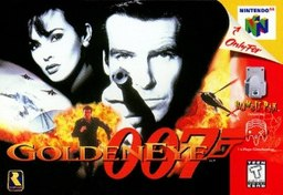 GoldenEye 007 N64 box cover