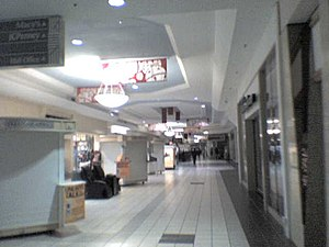 Golden Triangle Mall - The mall in November 2007