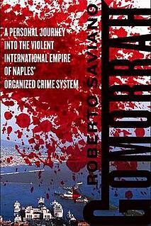 non-fiction investigative book by Roberto Saviano published in 2006
