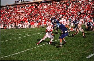 Greenway Avenue Stadium - Image: Greenwayave homecoming 1 1994