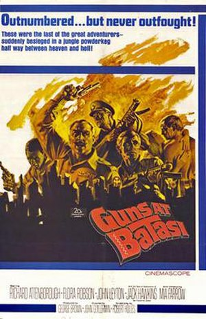 Guns at Batasi - Cinema poster